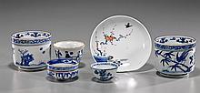 Group of 6 Old & Antique Asian Porcelains