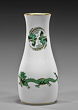 Small Meissen Porcelain Dragon Vase