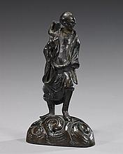 Small Antique Chinese Bronze Figure