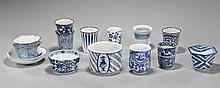 Fifteen Various Japanese Porcelain Dishware