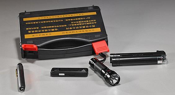 Gem Identification Kit & Magnifier