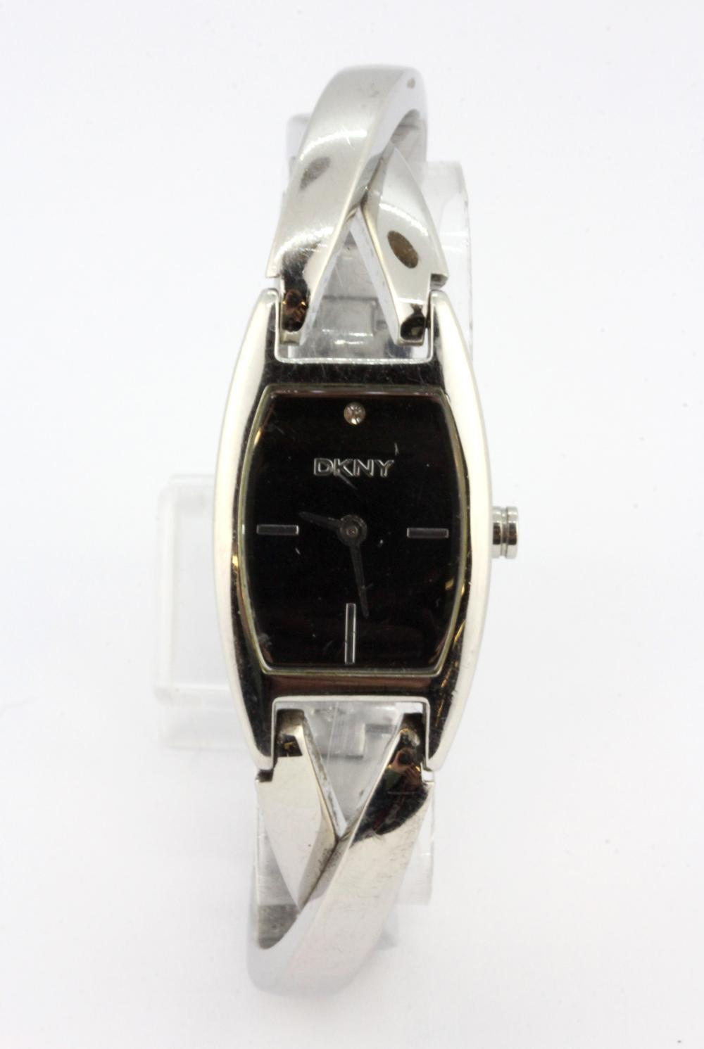 A boxed lady's DKNY wrist watch.