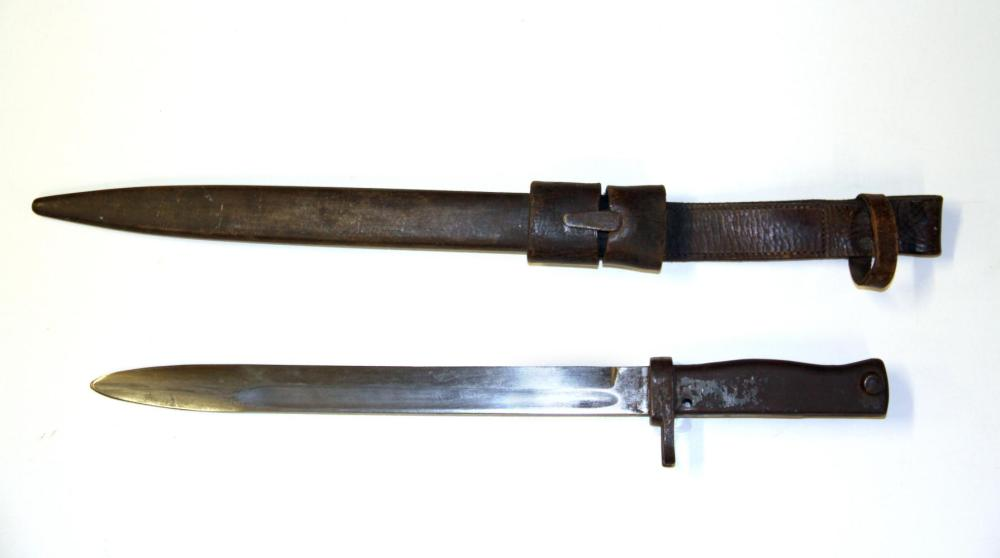 A First World War bayonet.