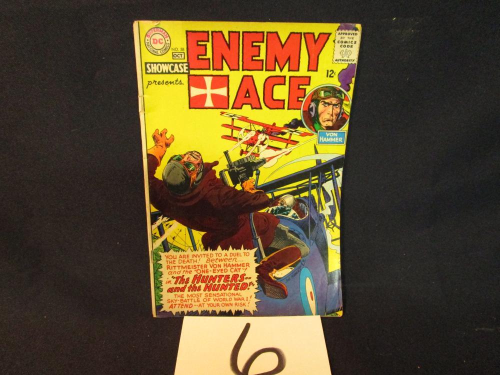 Enemy Ace Comic Book Superman DC Comics