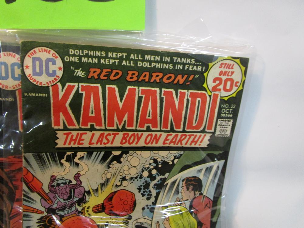 Lot of 11 KAMANDI THE LAST BOY ON EARTH Comic Books