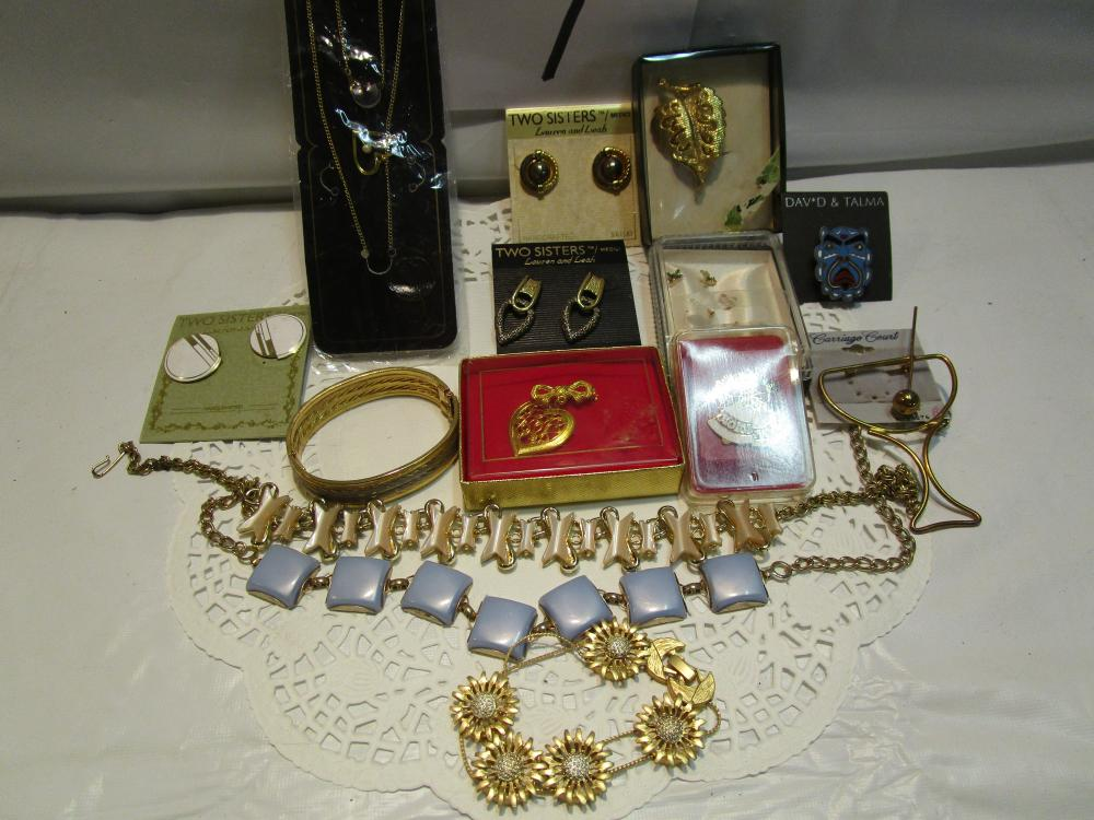 Large Lot of Older Costume Jewelry