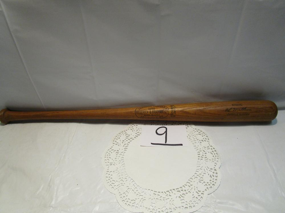 ED MATHEWS Louisville Slugger Baseball Bat