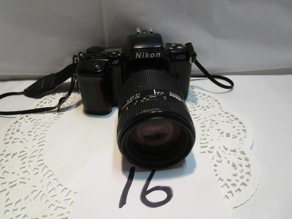 Nikon N6006 35MM Film Camera With 70-210 MM lens