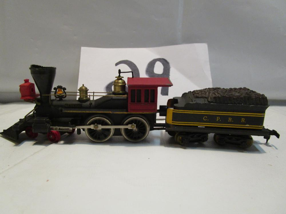 "C.P.R.R. HO Scale Steam Engine ""GENERAL"" & Tender"