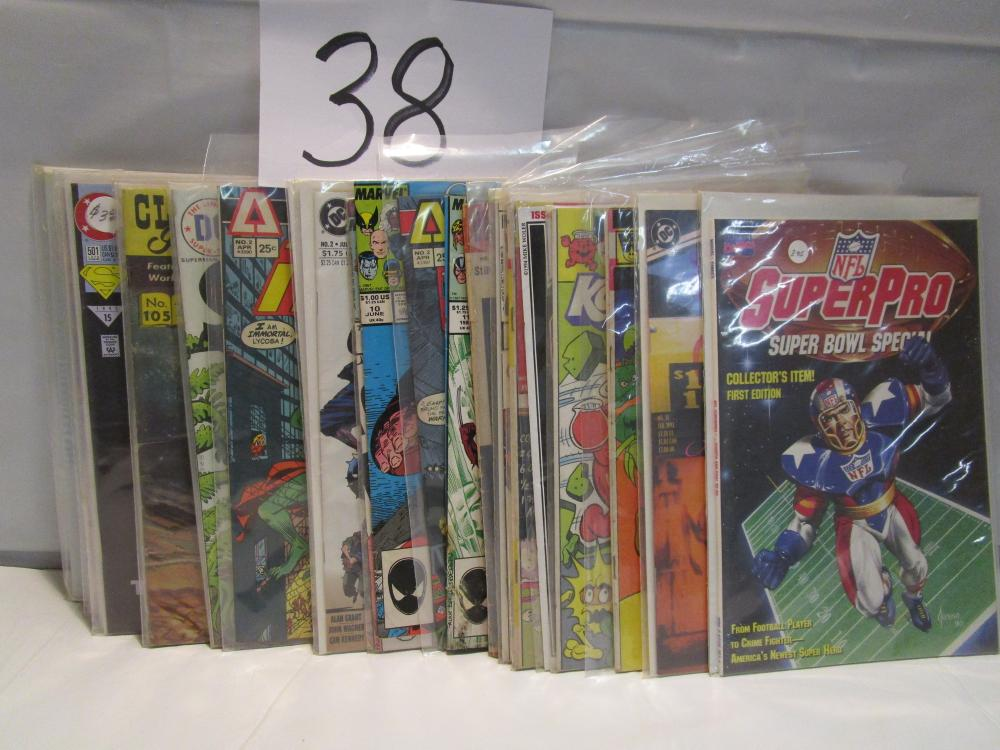 Lot 1 of 25 Misc.. Comics Books
