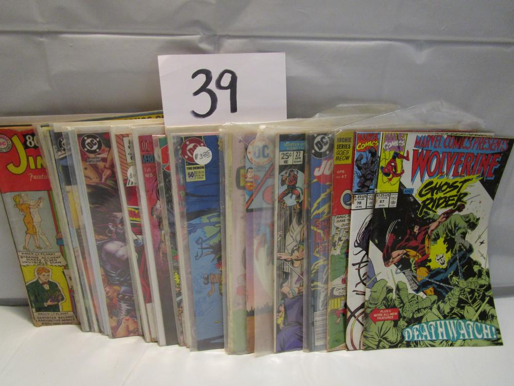 Lot 2 of 25 Msc.. Comic Books