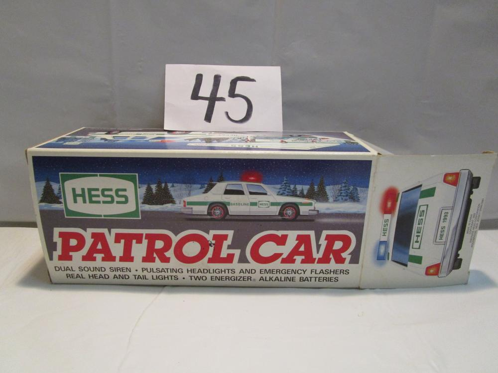 Hess Patrol Car in Original Box