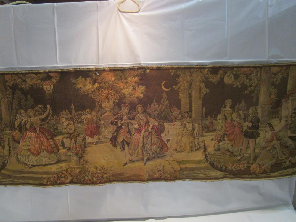 "Colonial Themed Tapestry 4.5 Ft. Long 20"" Wide"