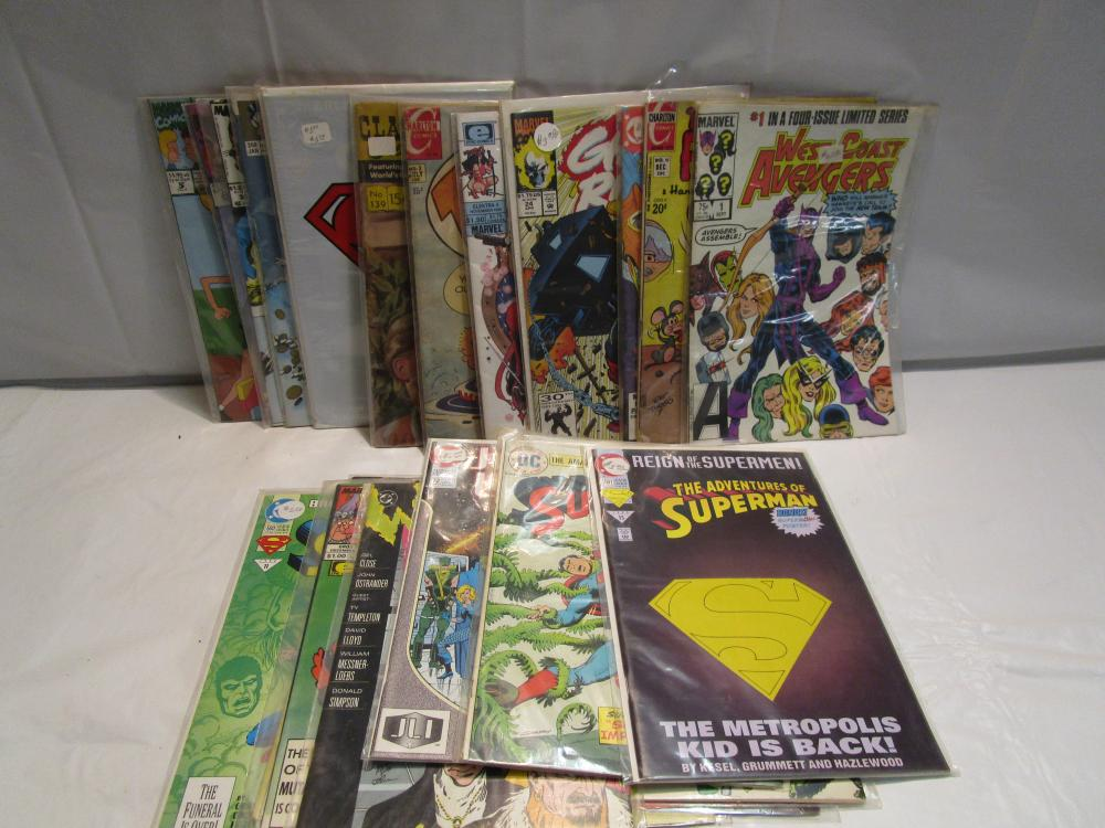 Lot 4 of 25 Misc.. Comic Books