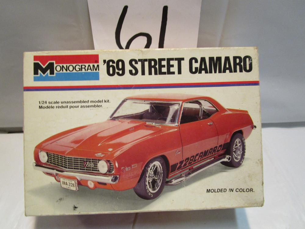 1969 Street Camaro 1/24th Scale Model