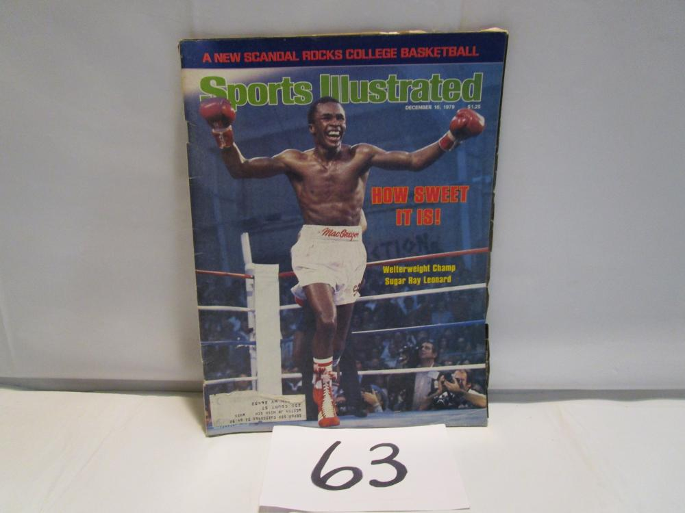 Sports Illustrated 1979 Sugar Ray Leonard