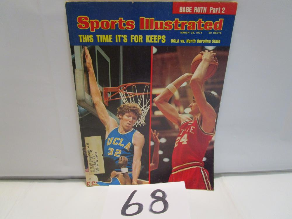 Sports Illustrated 1974 UCLA vs. NC State