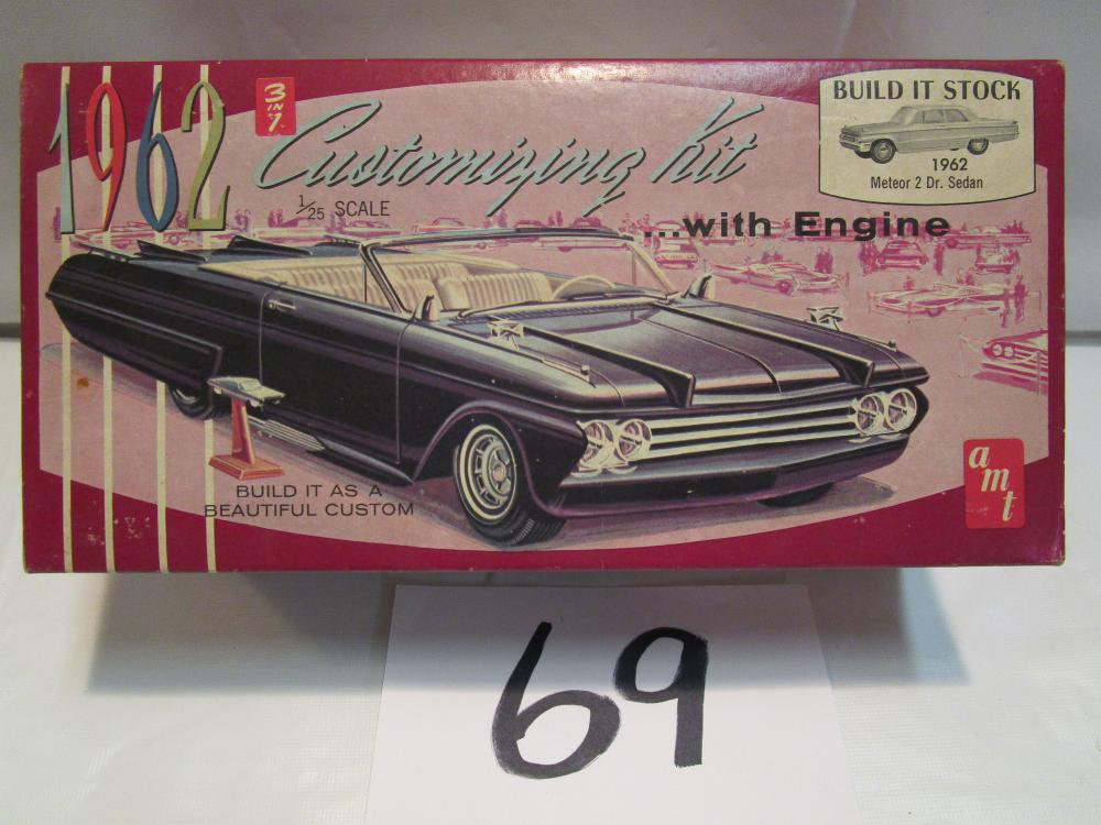 1962 Customizing Model Kit