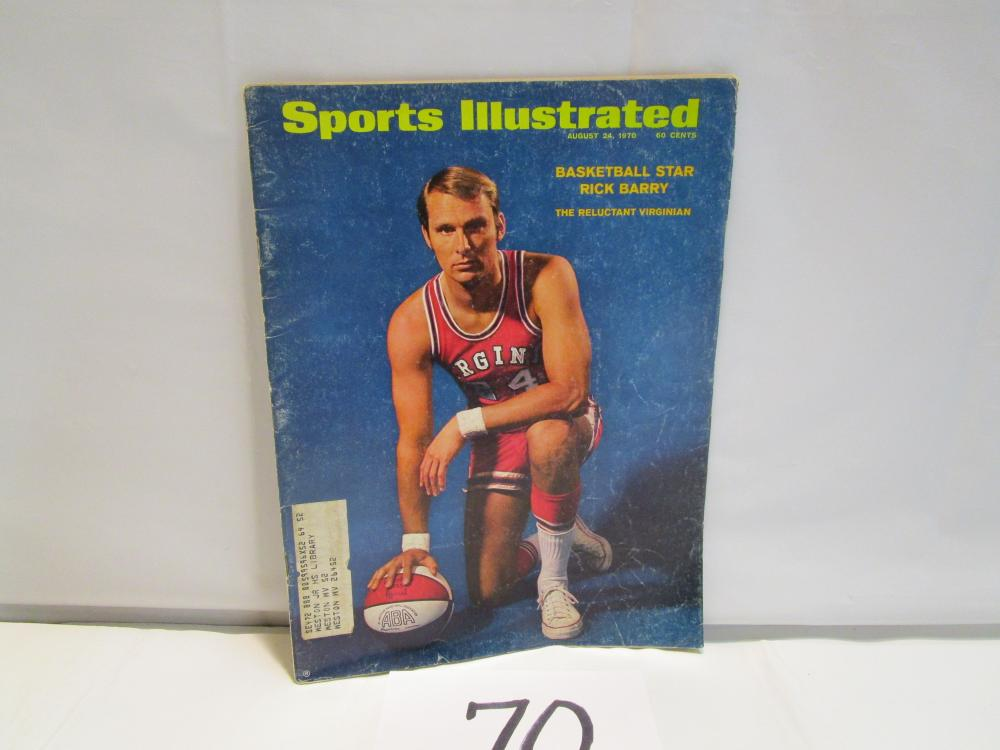 1970 Sports Illustrated Rick Barry Cover