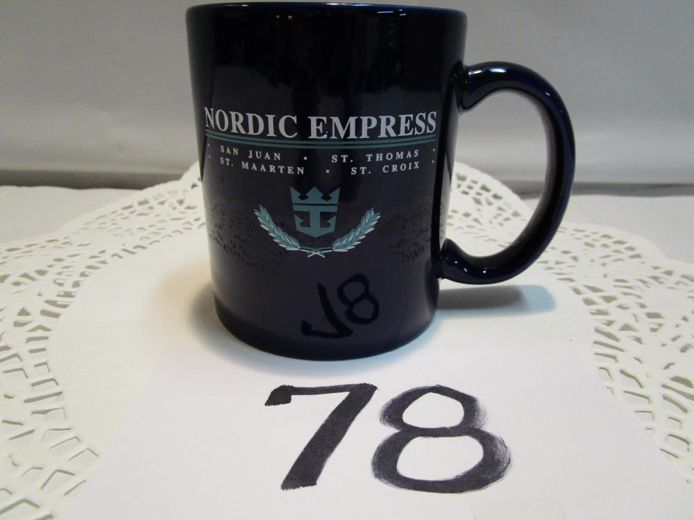 Nordic Empress Cruise Lines Coffee Cup