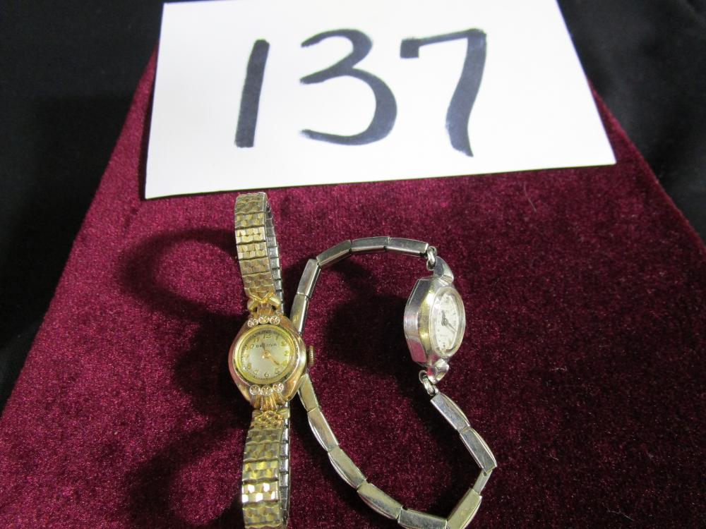 2 vintage Ladies Wristwatches in good working condition