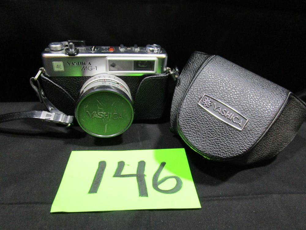 Yashica MG-1 Camera in Leather case