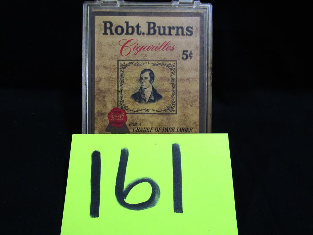Robt. Burns Cigarillos Box