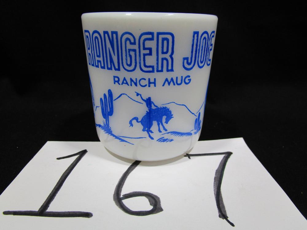 Ranger Joe Ranch Mug Anchor Hocking