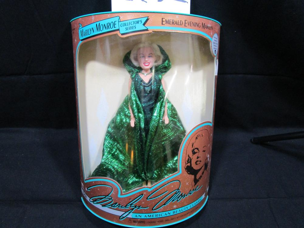 "1993 Marilyn Monroe Collector's Series ""EMERALD EVENING MARILYN"""
