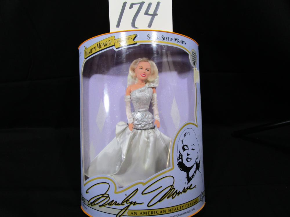 "1993 Marilyn Monroe Collector's Series ""SILVER SIZZLE MARILYN"""