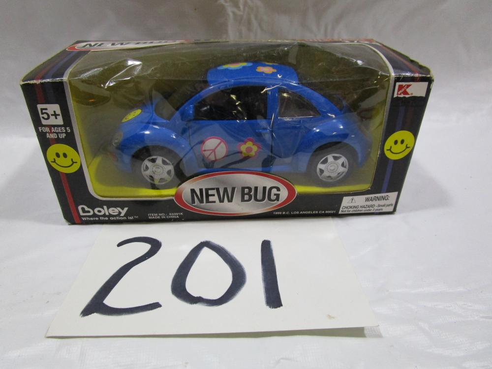 "Boley 1/24 Scale ""NEW BUG"" Volkswagon Beetle in Box"