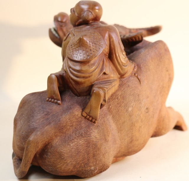 Chinese boxwood carving