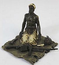 FRANZ XAVIER BERGMANN (1861-1936) BRONZE