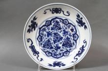 CHINESE EARLY QUING DYNASTY PORCELAIN