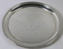NEW YORK RACING ASSOCIATION BELMONT TROPHY TRAY