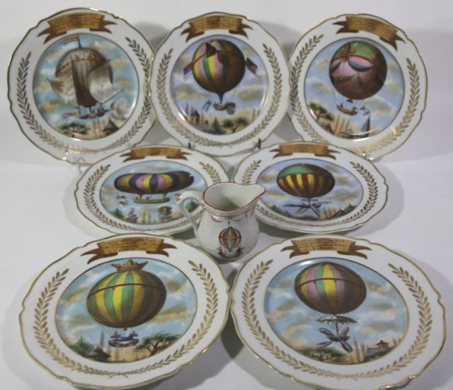 Vintage Balloons Dinner Plates