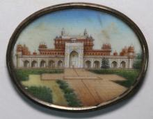 INDIAN FINE ANTIQUE MINIATURE FRAMED PAINTING
