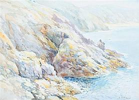 Arthur Bassett Waller (British 1882-1974) watercolour, signed lower right