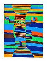 Jacques SOISSON (Né en 1928) - Entre ciel et terre