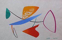 Renato RIGHETTI (né en 1916) - Napoli, 1949