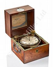 A FINE TWO-DAY MARINE CHRONOMETER BY ARNOLD & DENT, CIRCA 1829