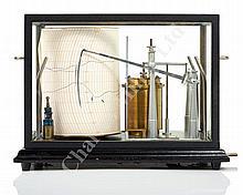 A PRECISION MARINE BAROGRAPH MK I BY SHORT & MASON, NO. 966, CIRCA 1960