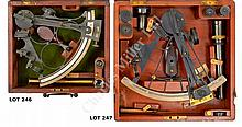 AN UNUSUAL 7IN. RADIUS SEXTANT POSSIBLY BY C.J. KETTLEWELL, CIRCA 1860