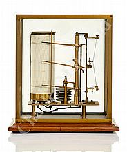 A RARE LATE 19TH CENTURY COMBINED THERMO-HYGRO-BAROGRAPH, PROBABLY FRENCH
