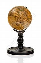 A 3½IN. TERRESTRIAL DESK GLOBE PUBLISHED BY SMITH & SON, LONDON, CIRCA 1870
