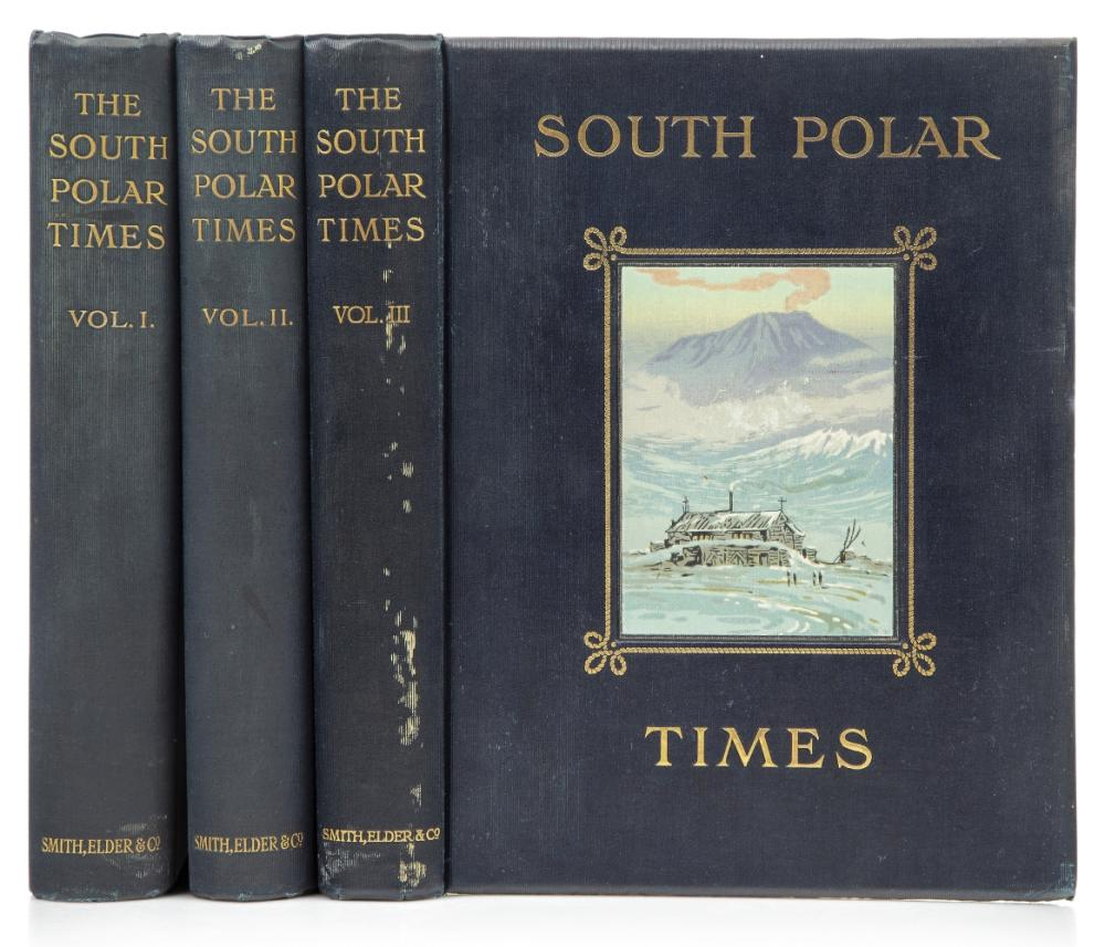 SOUTH POLAR TIMES, THE, EDITED BY SIR ERNEST SHACKLETON AND LOUIS BERNACCHI