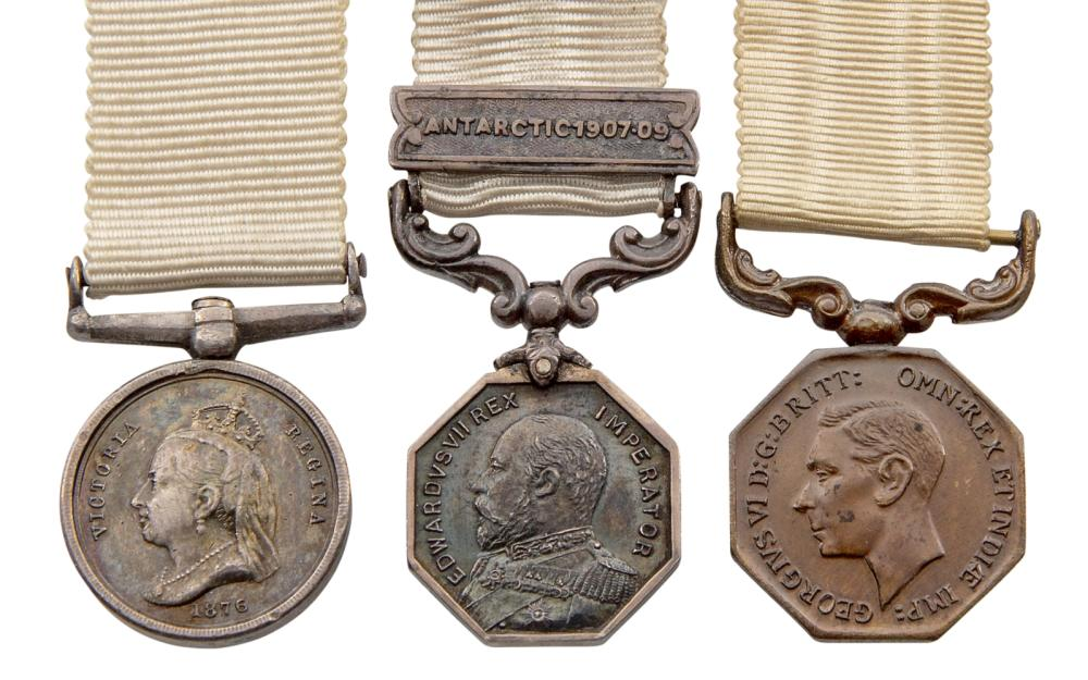 MINIATURE POLAR MEDALS OF THE 1876 AND 1904 ISSUES