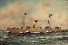 ALFRED J. JANSEN (DUTCH, 1859-1935)