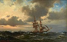 WILHELM MELBYE (DANISH, 1824-1882)