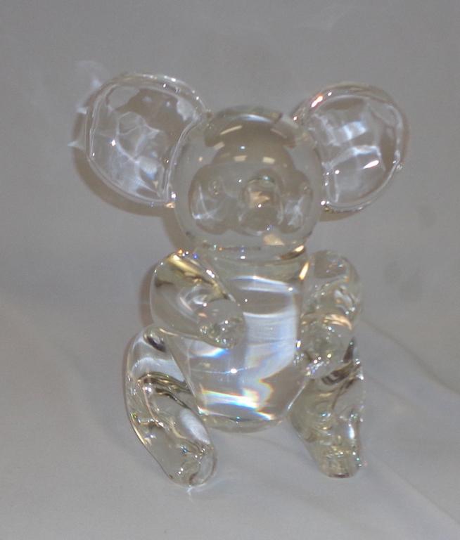 Steuben Crystal Bear